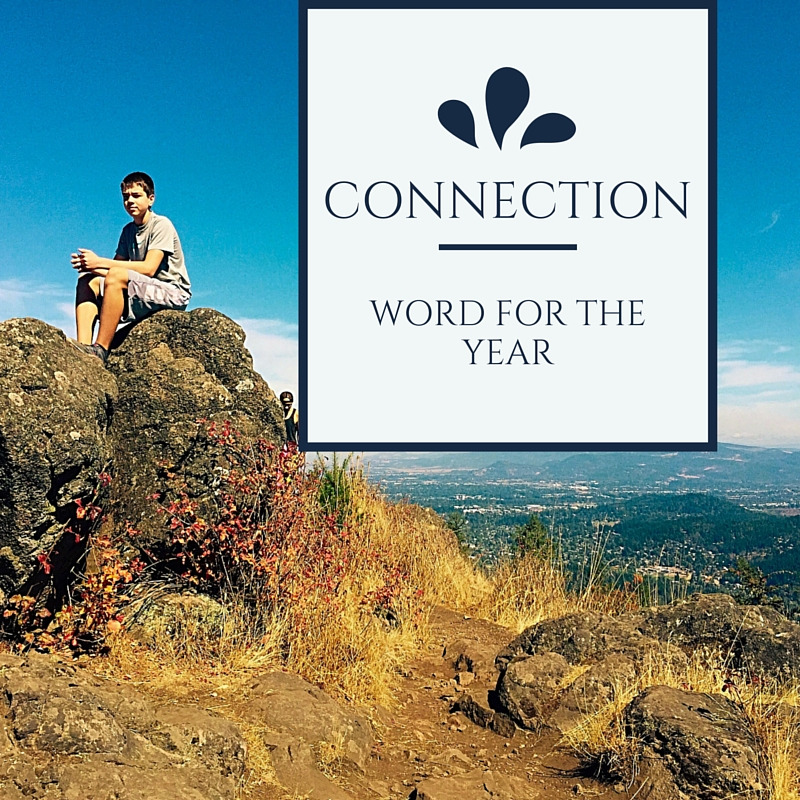 Word of the Year- CONNECTION