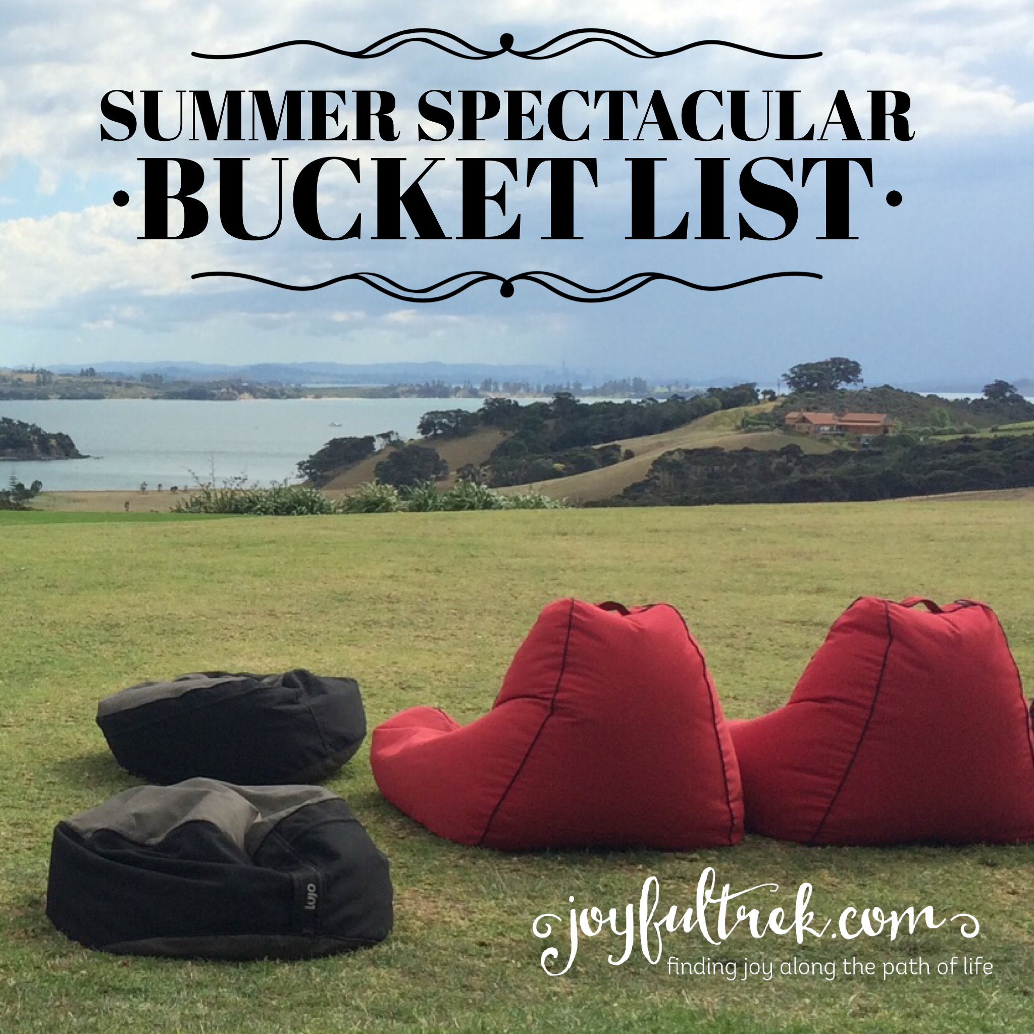 Summer Spectacular Bucket List